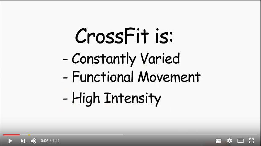 CrossFit- What is Fitness